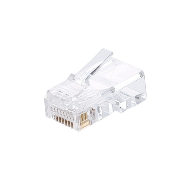 RJ45 Connector for Cat5e Unshielded bag of 50